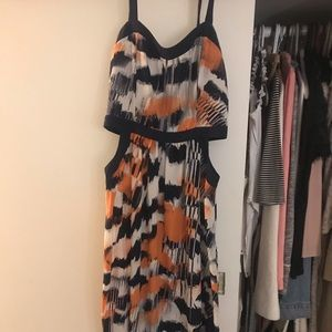 Nordstrom soprano dress with cut out sides